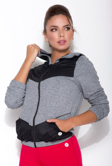 Protokolo Gray Hot Shot Jacket