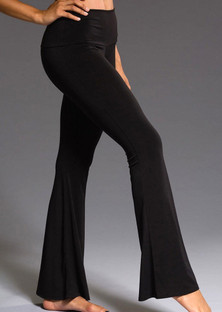 Onzie Black Bell Bottom Pant