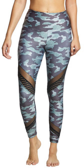 Charcoal Multi Camo Print Legging By Onzie