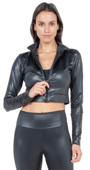 Bia Brazil Black Gloss Jacket