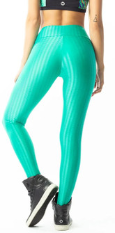 Vestem Verticle Striped Emerald Legging