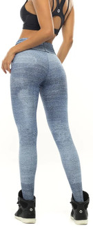 Vestem Denim Print Scrunch Legging