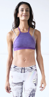Niyama Sol Ultra Violet Layered Sports Bra