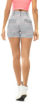 Vestem Plaid Pocket Short