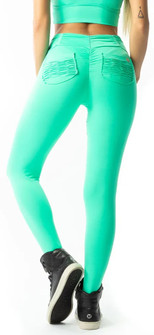 Vestem Green Booty Pocket Legging