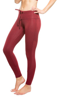 Strut-This Red Heather Crawford Legging