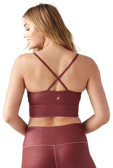 Glyder Apparel Premier Bra Gloss Oxblood