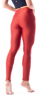 Vestem Verticle Striped Copper Legging
