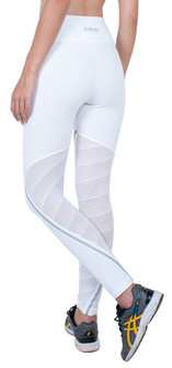 Bia Brazil White Oval Legging