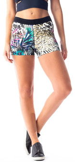 Vestem Jungle Animal Print Short