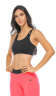 Protokolo Black Beverly Sports Bra