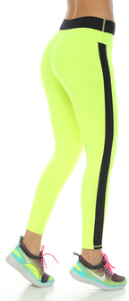 Protokolo Neon Green Beverly Leggings