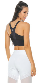 Protokolo Black Gina Sports Bra
