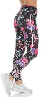 Protokolo Violet Printed Leggings