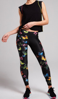 Terez Metamorphosis Butterfly Leggings