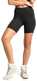 Vestem Black Gym Fashion Short