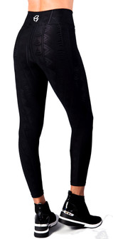 Equilibrium Black Textured Excel Legging