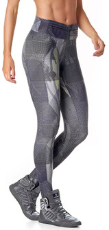 Vestem Grey Printed Spirit Legging