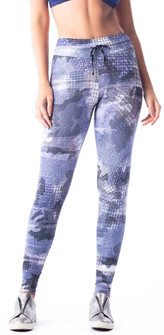 Vestem Purple Night Print Legging