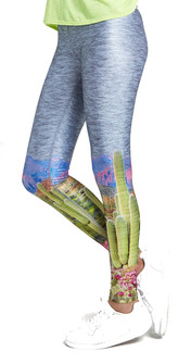 Terez Sunset Canyon Tall Band Leggings