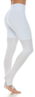 Protokolo Deena White Leggings