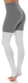 Protokolo Deena Grey-White Leggings