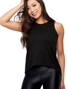 Emily Hsu Designs Black Sunday Tank