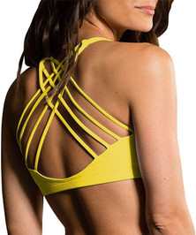 Onzie Yellow Chic Bra Top
