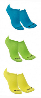 Vestem 3 Pack Multi Color Crew Socks