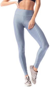 Vestem Verticle Striped Steel Blue Legging