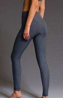 Onzie Slate Geo High Rise Legging