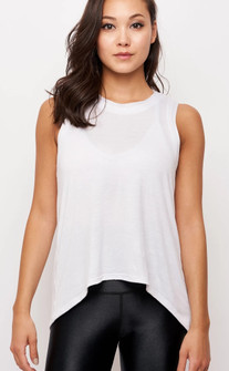 Emily Hsu Designs White Sunday Tank