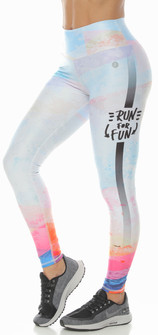 Protokolo Printed Run For Fun Legging