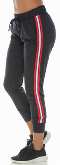 Protokolo Black-Red Katelin Jogger