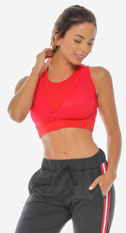 Protokolo Emma Red Sports Bra