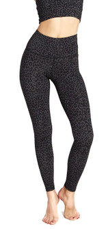 Strut-This Teagan Ankle Legging In Grey Leopard