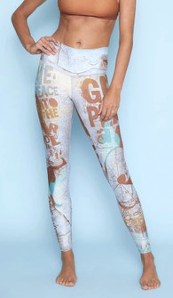 Niyama Sol Peace High Waisted Barefoot Legging