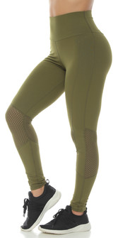 Protokolo Army Green Lena Leggings