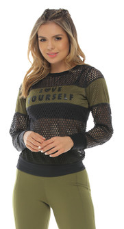 Protokolo Army Green Kira Long Sleeve