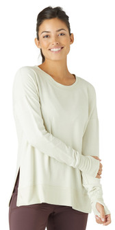 Glyder Apparel Humble Long Sleeve In Crème