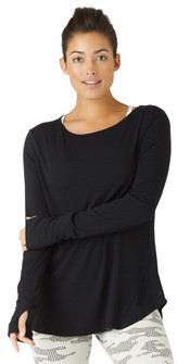 Glyder Apparel Humble Long Sleeve In Black