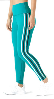 Glyder Apparel High Waist Incline Legging In Jade