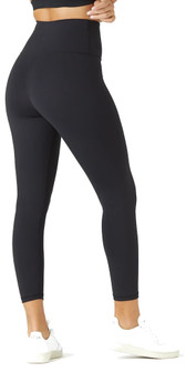 Glyder Apparel High Waist Pure 7/8 In Black