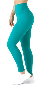Glyder Apparel High Waist Pure Legging In Jade