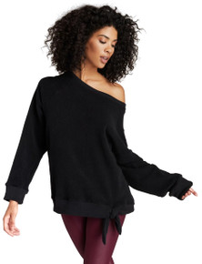 Strut-This Black Ruby Sweatshirt