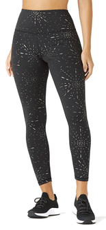 Glyder Apparel High Power Legging 2 - Black Stardust Print