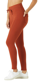 Glyder Apparel Vagabond Pocket Legging In Burnt Amber