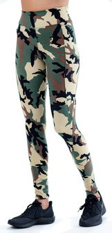 Equilibrium Storm Misty Green Camo Legging
