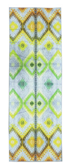 Niyama Sol Electric Kilim No Slip Yoga Mat Towel