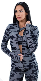 Equilibrium Camo Winter Jacket